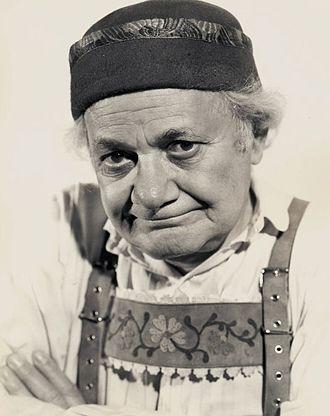 Al Shean - Shean in The Blue Bird (1940 film)