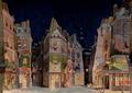 Al quartiere latino, bozzetto di Adolf Hohenstein per La Bohème (1896) - Archivio Storico Ricordi ICON000086 - Restoration.png