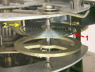 Balance wheel mechanism in clocks