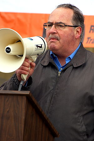 Alberta New Democratic Party - Image: Alberta NDP leader Brian Mason
