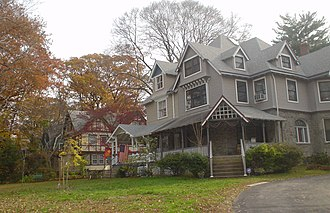 Lansdowne, Pennsylvania - The Albertson subdivision, built between 1890 and 1940, is a historic district recognized by the National Register of Historic Places.