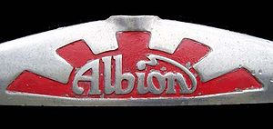 Albion Motors - Albion Motors radiator badge