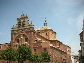 Alcázar de San Juan - Holy Trinity Church.