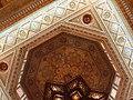 Aleppo (Halab), Mamlukisch gestaltete Decke (13. Jh.)auf der Zitadelle (Qal'at Halab) (38674530822).jpg