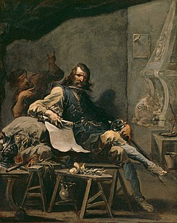 Alessandro Magnasco - Satire on a Nobleman in Misery - 36.14 - Detroit Institute of Arts