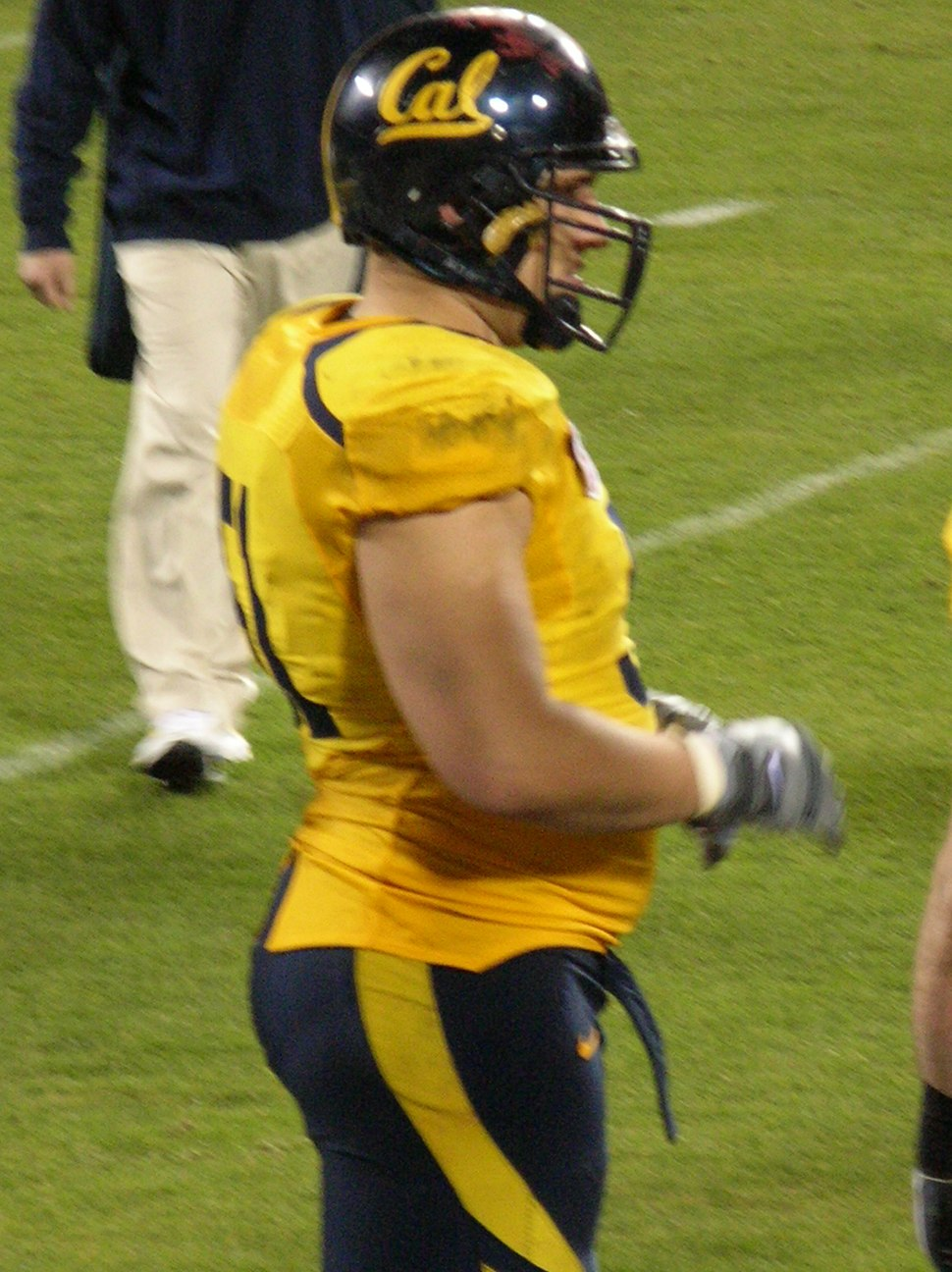 Alex Mack at 2008 Emerald Bowl