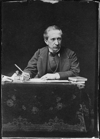 Alexander Bassano - Self portrait, c. 1890s