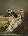 Alexander Hugo Bakker Korff - Twee dames bezig met naaiwerk.jpg