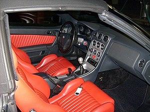 Alfa Romeo GTV and Spider - Spider interior
