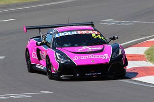 2015 Liqui Moly Bathurst 12 Hour - The Class C-winning Lotus Exige Cup R of Tony Alford, Peter Leemhuis and Mark O'Connor.
