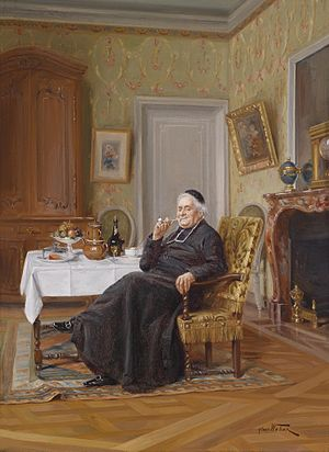 Alfred Charles Weber Mußestunde des Pfarrers.jpg