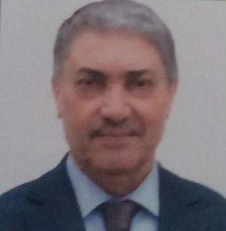 Algerian presidential election, 2004 - Image: Ali Benflis 2014 (cropped)
