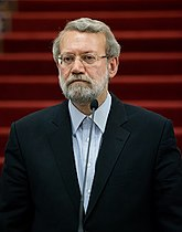 Ali Larijani at the Former Parliament of Iran Building 24.08.2016.jpg