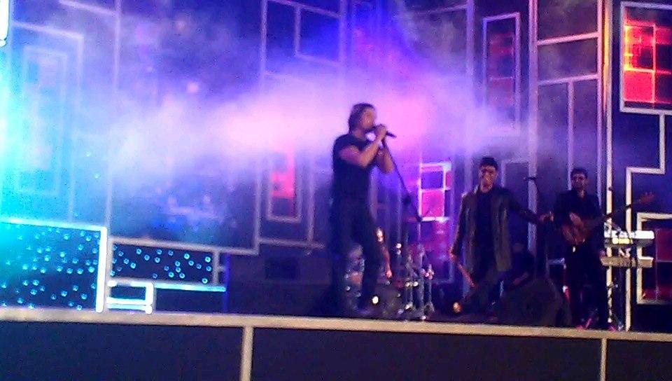 Ali Zafar in concert