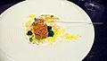 Alinea Bigeye Tuna, artichoke, garlic, bottarga (2771974134).jpg