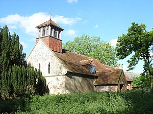Stratfield Turgis - Image: All Saints', Stratfield Turgis geograph.org.uk 175431