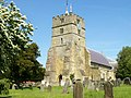 All Saints, Brenchley from south west.JPG