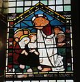 All Saints, Selsley, Gloucestershire ... red headed Christ. - Flickr - BazzaDaRambler.jpg