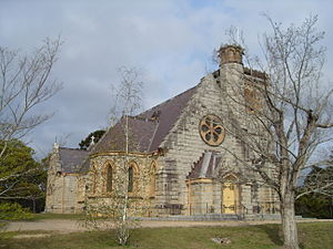 Bodalla, New South Wales - All Saints Church, Bodalla; commemorating Thomas Mort.
