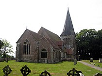 All Saints Church, Church Road, Herstmonceux, East Sussex - geograph.org.uk - 1372340.jpg
