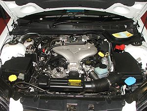 GM High Feature engine - LPG Alloytec V6 engine in a Holden VE Commodore.