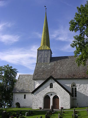 Levanger - Alstadhaug Church