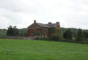 Grade II* listed buildings in Cheshire West and Chester - Image: Alvanley Hall geograph.org.uk 1995941 cropped