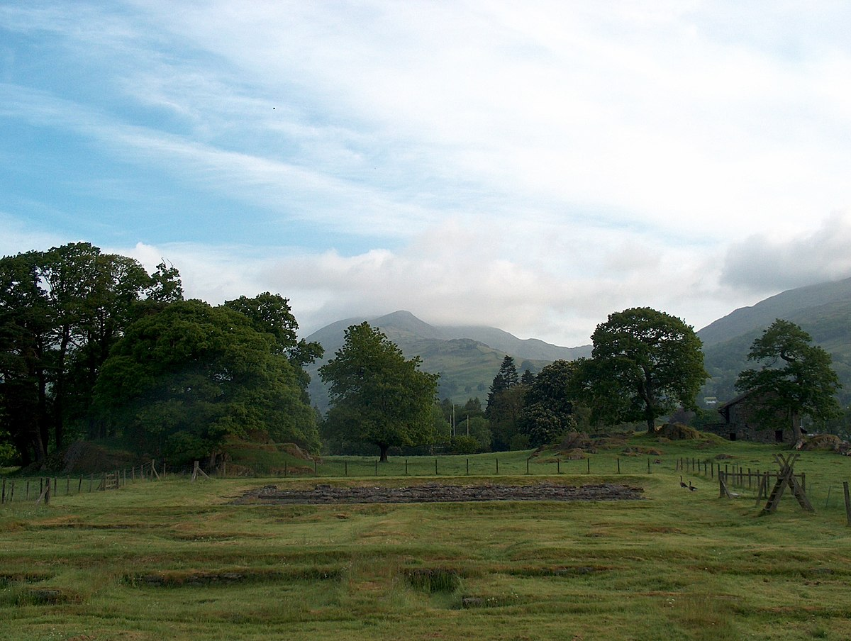 Ambleside Roman fort - geograph.org.uk - 1761456.jpg