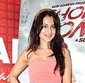 Ameesha Patel promoting 'Shortcut Romeo'.jpg
