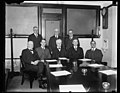 American delegation to International Civil Aeronautics Conference. The first meeting of the American delegation to the International Civil Aeronautics Conference to be held in Washington, LCCN2016889087.jpg