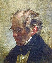 Carl Christian Vogel von Vogelstein (Portrait by Friedrich von Amerling, 1837) (Source: Wikimedia)