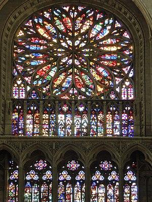 Pierre Tarisel - Rose windows of Amiens Cathedral by Pierre Tarisel