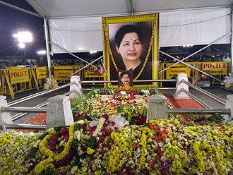 Jayalalithaa - Puratchi thalaivi selvi J. Jayalalithaa memorial.