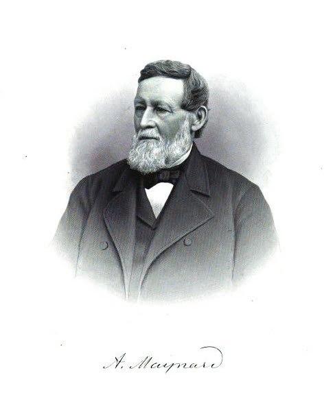 Amory Maynard mill owner and founder of Maynard, Massachusetts, UA