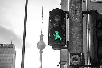 Ampelmännchen - Ampelmännchen in Berlin