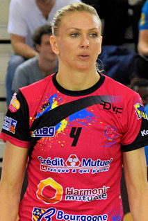 Anastasiia Pidpalova Ukrainian handball player