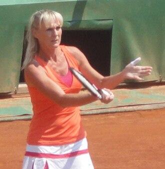 Andrea Temesvári - French Open 2011 Trophée des Légendes