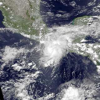 Tropical Storm Andres (1997) Pacific tropical storm in 1997