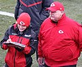 Andy Reid and Dani Welniak.JPG