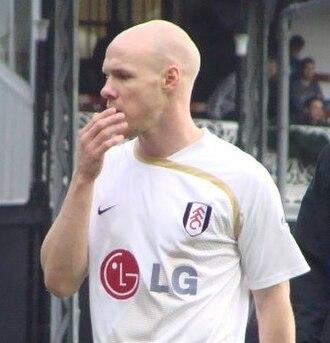 Andrew Johnson (footballer, born 1981) - Johnson training with Fulham in 2008