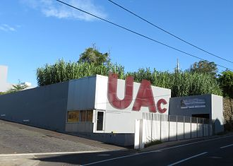 University of the Azores - Entrance to the campus, Angra do Heroismo