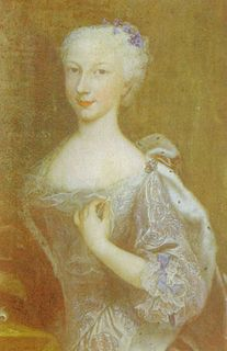 Princess Anne Thérèse of Savoy Princess of Soubise