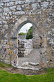 Annaghdown Abbey of St. John the Baptist de Cella Parva Doorway to the Nave 2010 09 12.jpg