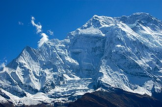 Annapurna II - Image: Annapurna II north