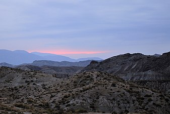 Anochecer en Desierto de Tabernas by Maksym Abramov.jpg