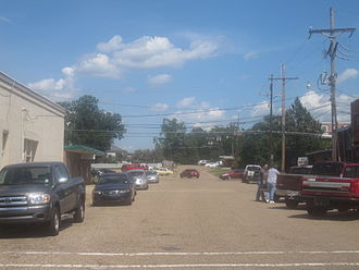 Mansfield, Louisiana - Another look at downtown Mansfield