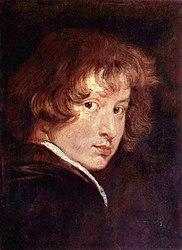 Anthony van Dyck: Self-portrait (van Dyck, 1613-14)