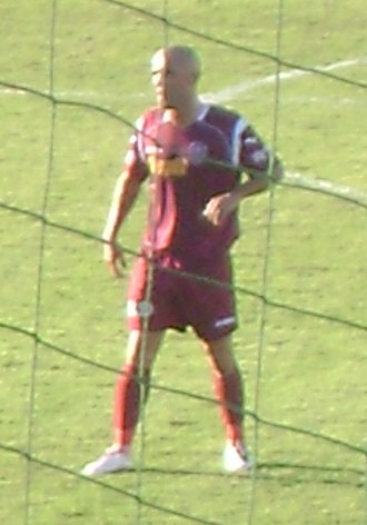 Anthony da Silva - Tony playing for CFR Cluj in 2009