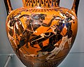 Antimenes Painter - ABV 269 37 - Herakles and the amazons - Herakles with Iolaos and Athena - København NCG 2653 - 05.jpg
