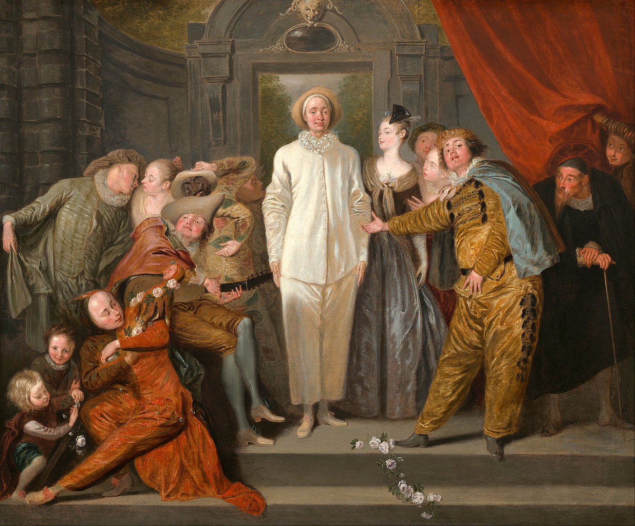 File:Antoine Watteau - The Italian Comedians - Google Art ...